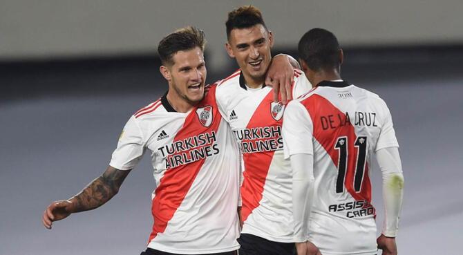 Goleada Monumental: River venció 4-0 a Unión por la fecha 2 de la Liga Profesional